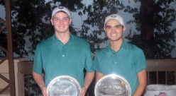 Drew Weary and Brandon McBride won the boys tournament at The Tradition.