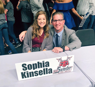 Sophia Kinsella helped the Byrnes Rebels make the state AAAAA Championship. She will play college golf at USC Sumter.
