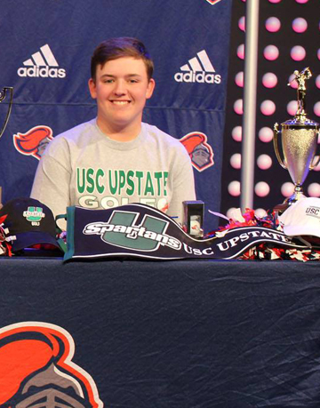 Spartanburg Christian golfer Parker Fain is on his way to USC Upstate. Fain was the runner-up in the Spartanburg Co High School championship and also has a win and four top-10 finishes on the GSA Upstate Tour.