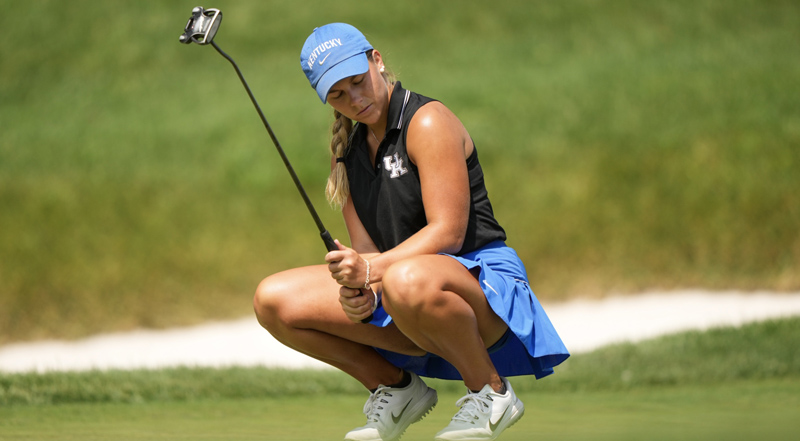 Jensen Castle will play for the USGA Women's Amateur championship on Sunday at the Westchester Country Club in New York.